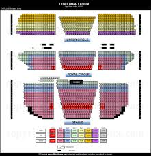 Seat Map London Palladium Seat Map And Prices For Whittington