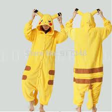 Pikachu Costume Aliexpress Com Buy Pokemon Pikachu Costume For Cartoon