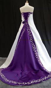 similarly the other colored wedding dresses also have an inherent