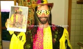 Randy Savage Halloween Costume Coolest Macho Man Randy Savage Costume Idea