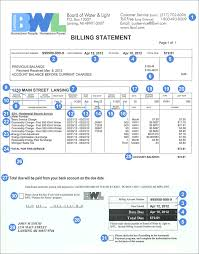 Bwl Outage Map How To Read Your Bill
