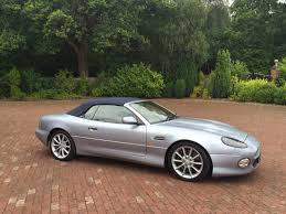 silver aston martin aston martin db7 vantage volante redline engineering uk ltd