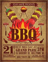 download the best free barbecue flyer psd templates for photoshop