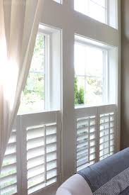 Interior Shutters For Windows New Plantation Shutters The Inspired Room