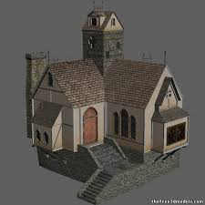House 3d Models Free 3d House Download 3d House Building Free