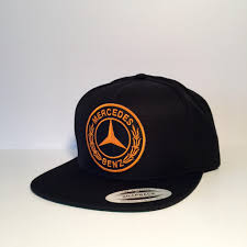 mercedes benz logo mercedes benz logo black custom snapback from bloom pepper auto