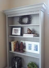 Crown Molding Bookshelf Add Crown Molding To A Simple Bookshelf At Home In The Northwest