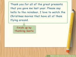 official letters from santa how to write a letter to santa claus with sle letter