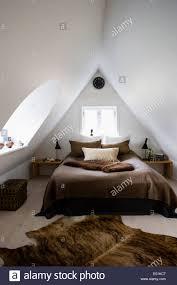 Attic Bedroom by Attic Bedroom Conversion In Modernised Farm House Kirke Vaerlose