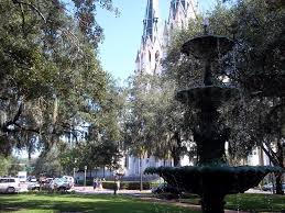 panoramio photo of lafayette square savannah ga
