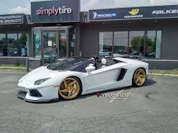 Lamborghini Aventador Roadster - lamborghini aventador roadster on velos d5 wheels velos