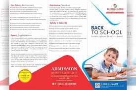 school brochure design templates free tri fold school brochure design file formats psd ai cdr