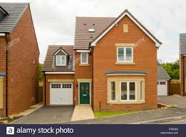 build a house free build brick detached house stock photo royalty free image