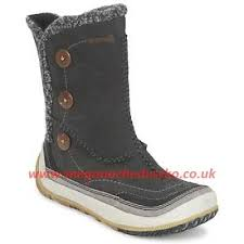 merrell womens boots uk merrell womens boots puffin walking in graphite merrell