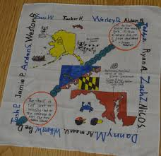 World Map Quilt Quilt 2018 Iditarod Teacher On The Trail Heidi Sloan