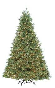 artificial prelit christmas trees 7 5 ft pre lit avalon fir artificial christmas tree 1400 clear