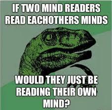 Velociraptor Meme - mind readers meme