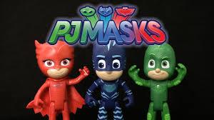 pj masks talking gekko owlette catboy play