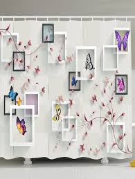 photo frame flower butterfly shower w inch l inch