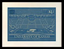 Blue Print Size by Kansas Allen Fieldhouse Blueprint Art Stadium Blueprint Company
