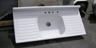 SOLDAntique Kitchen Sinks - Kitchen sinks with drainboards