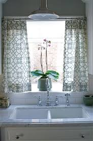 kitchen window decor ideas kitchen window curtain ideas modern home design