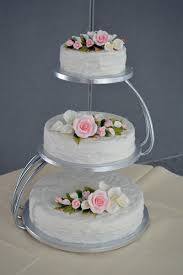 3 Tier Wedding Cake 3 Tier Silver Wedding Cake Standwedwebtalks Wedwebtalks