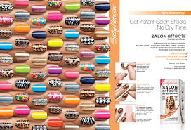 sally hansen salon effects twin pack real nail polish strips