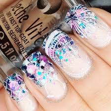 best 25 new year u0027s nails ideas on pinterest new years nail art