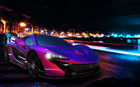 mclaren p1 purple mclaren p1 on behance