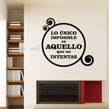 Wall Quotes For Living Room by Compare Prices On Wall Quotes Spanish Online Shopping Buy Low