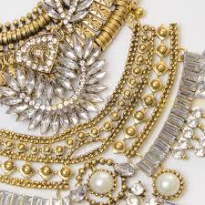 silver fashion statement necklace images Paris large silver statement necklace gold silver fashion pickle jpg