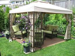 Backyard Cheap Ideas Cool Backyard Ideas With Gazebo Inexpensive Landscaping Cheap