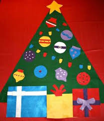 Decorate Your Own Christmas Tree Felt by The Best Way To Make A Felt Christmas Tree Felt Christmas