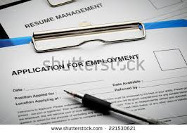 Job Application And Resume by Visa Application Form Passport Pen Stock Photo 221828149