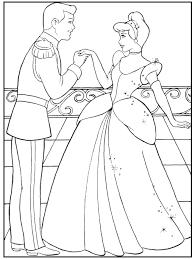 cinderella coloring pages elise disney crafts