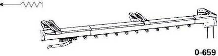graber super heavy duty one way draw traverse rod curtainshop com
