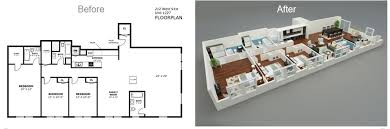 Floor Plan Renderings 3d Floor Plans And Model Renderings Home Frosting