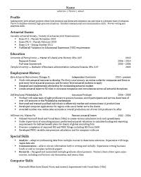Actuary Resume Example by Impressive Inspiration Graduate Student Resume 14 Sample For Cv