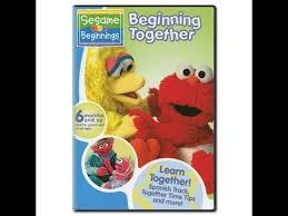 opening closing to sesame beginnings beginning together 2006 dvd