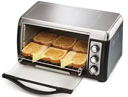 Toaster Oven Broil Hamilton Beach 31330 6 Slices Toaster Oven Broiler Newegg Com