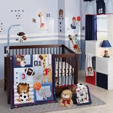 lambs u0026 ivy r future all star blue gray sports 4 piece crib