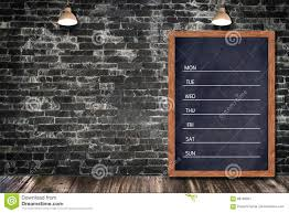 decorative chalkboard for home weekly chalkboard calendar blackboard sign menu for office