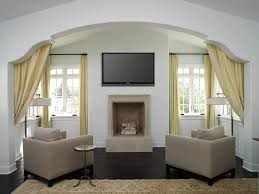 living room curtains decorating ideas with 3 different style small