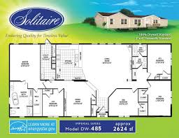 solitaire mobile homes floor plans double wide floorplans double wide manufactured home floorplans