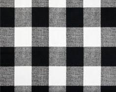 plaid home decor fabric black white buffalo check fabric by the yard designer cotton