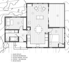 marmol radziner skyline 1 2 plans floor plans pinterest prefab