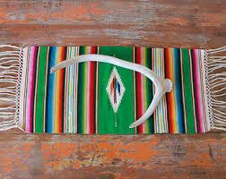 Serape Table Runner Mexican Table Runner Etsy