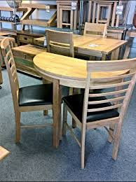 Round Kitchen Tables Dining Tables Astounding Half Circle Dining Table Half Dining