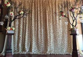 diy wedding photo booth chiffon rosette photo backdrop photo booth backdrop photography